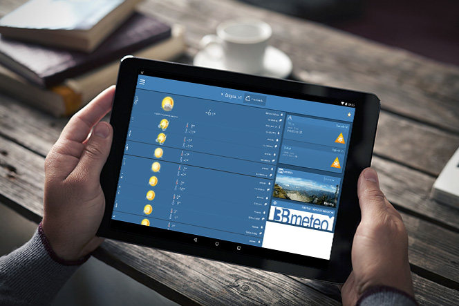 3BMeteo per Tablet Android