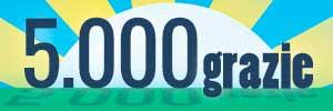 5000 grazie